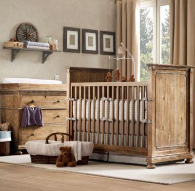rustic wood baby cribs baby pinterest
