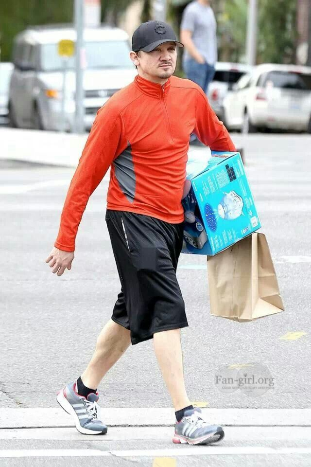 Jeremy renner out and about more likes pinterest