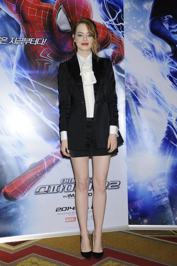 Emma Stone amazing spiderman 2 premiere