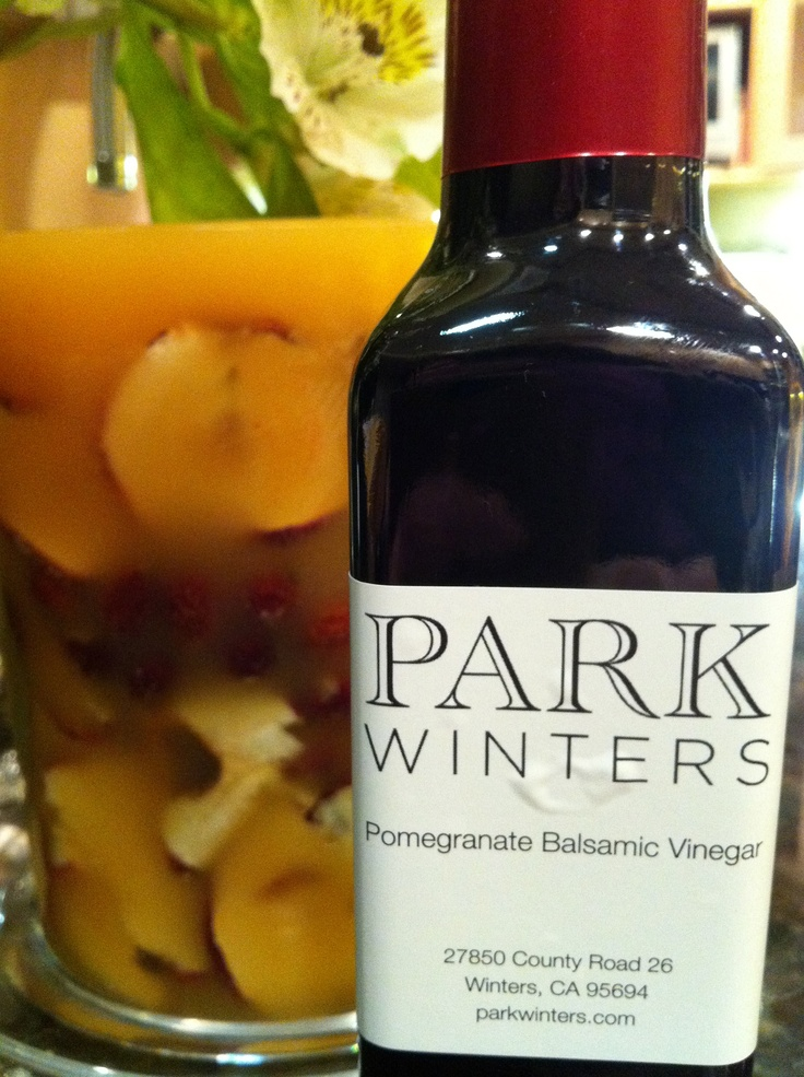 Park Winters Pomegranate Balsamic Vinegar- the B E S T !!!