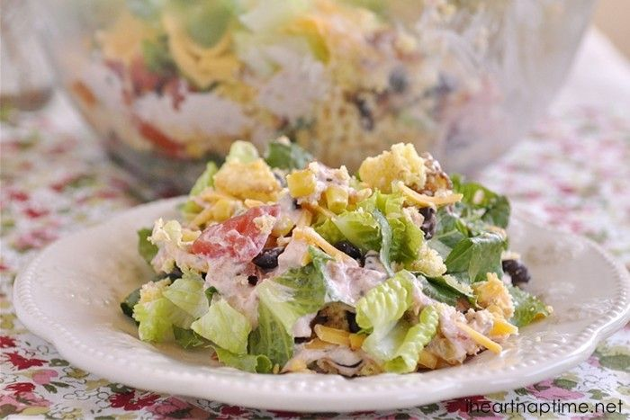Southwest Cornbread Salad | Recipe