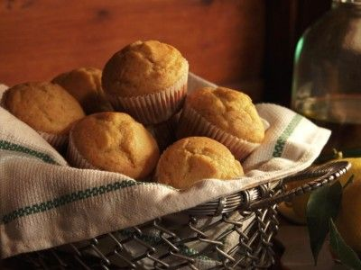 """Olive Oil and Honey Muffins"""" -- Courtesy of Gabriele Corcos and Debi ..."""