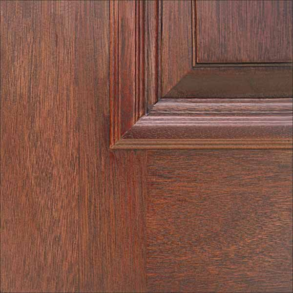 how to change a color on a wood door