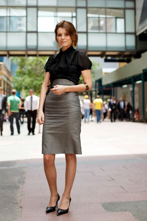 Pencil skirt. work wear