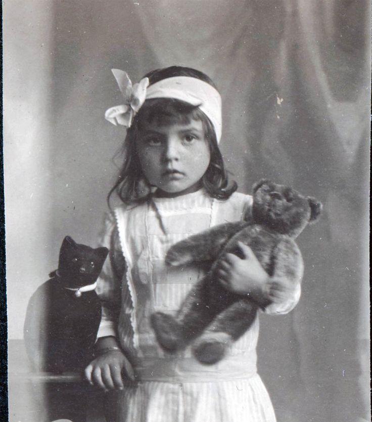 Edwardian Child with Toys