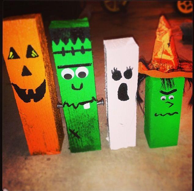Pinterest Halloween Wood Crafts