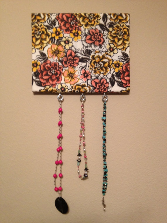 Jewelry Hanger by DecorativeDarling on Etsy, $12.00
