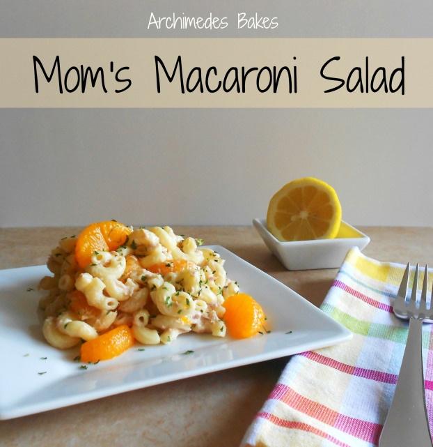 Mom's Macaroni Salad | food | Pinterest
