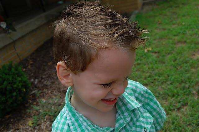 mikey's hair cut wish