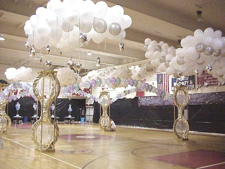 My favorite cloud party pinterest for Balloon cloud decoration