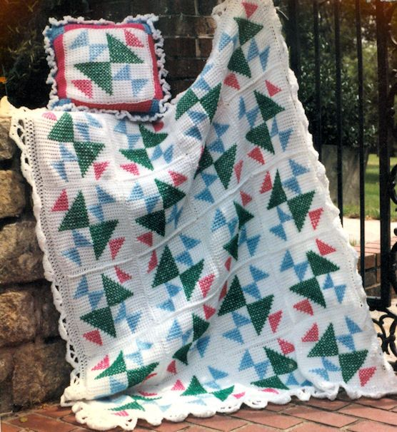 Crochet Afghan Patterns That Look Like Quilts : Pin by Amanda Hensley on Crochet Blankets Pinterest