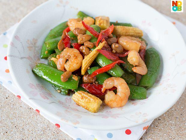 Sugar Snap Peas Stir-fry Recipe