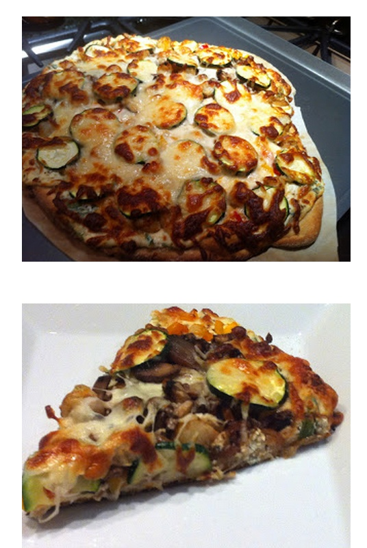 margherita on the grill or in the oven tomato zucchini white bean and ...