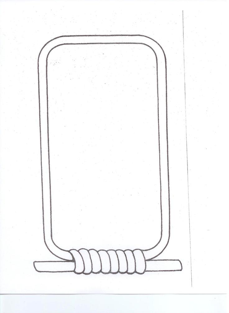 pin blank cartouche on pinterest