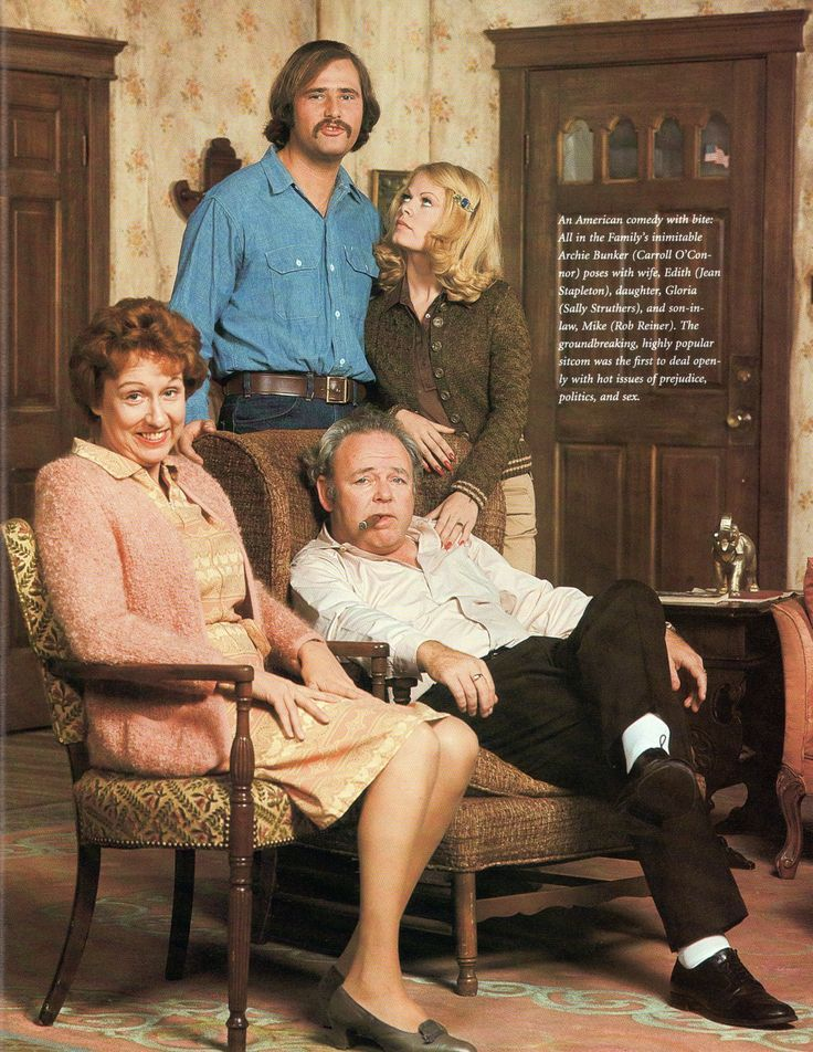 Archie Bunker. All in the Family They were really funny