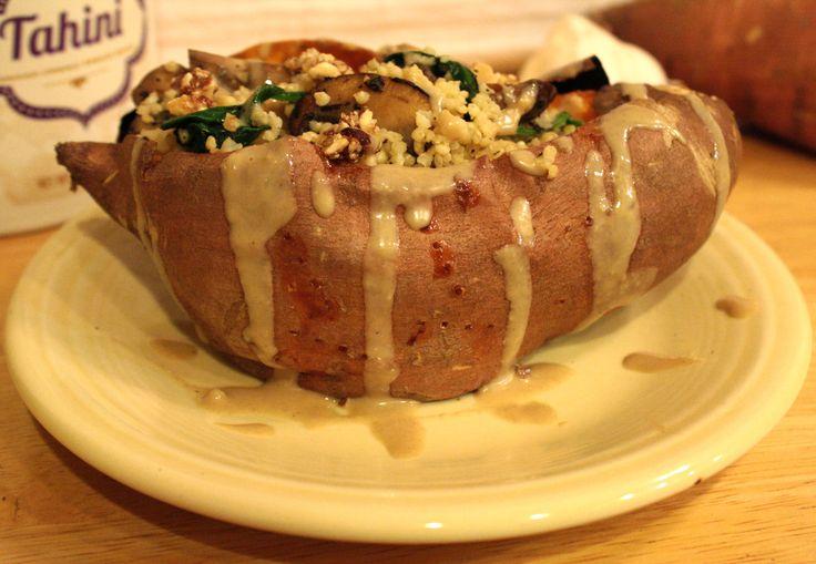 Stuffed Sweet Potatoes | Food lite | Pinterest