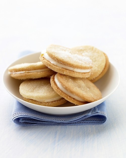 Lemon Sandwich Cookies Recipe -- unique, sophisticated, delicious, and ...