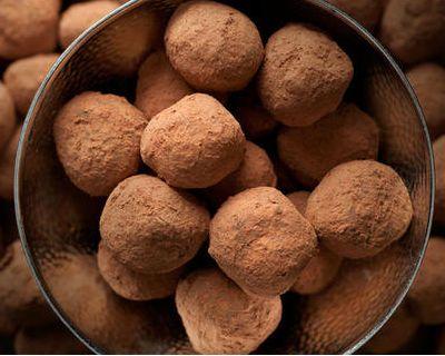 Bittersweet Chocolate Truffles | Recipe