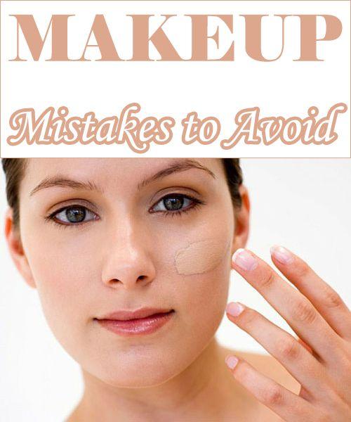 makeup mistakes avoid