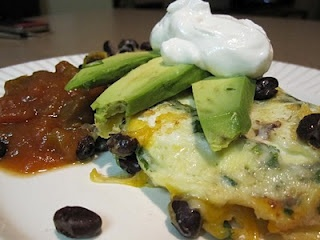 southwestern omelet | the kitchen | Pinterest