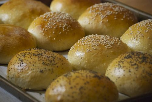 Homemade Sandwich Buns   Relishing It   Our Daily Bread   Pinterest