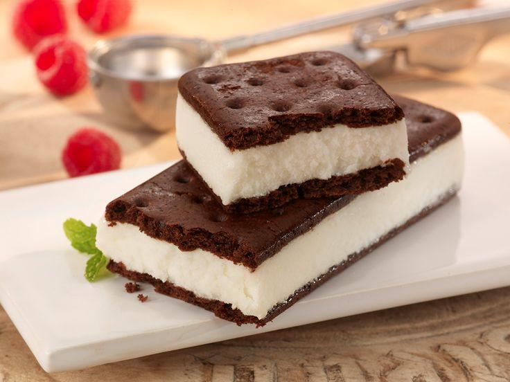 classic vanilla ice cream sandwich recipe how to make summer cool ...
