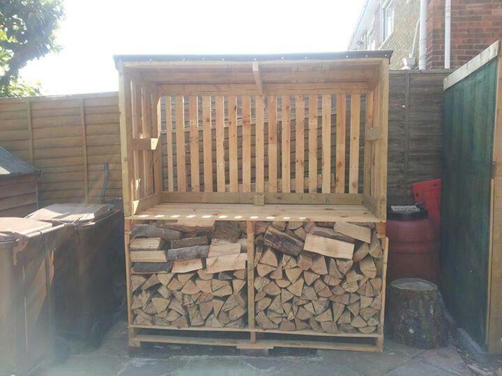 Pallet Wood Shed Build It Pinterest