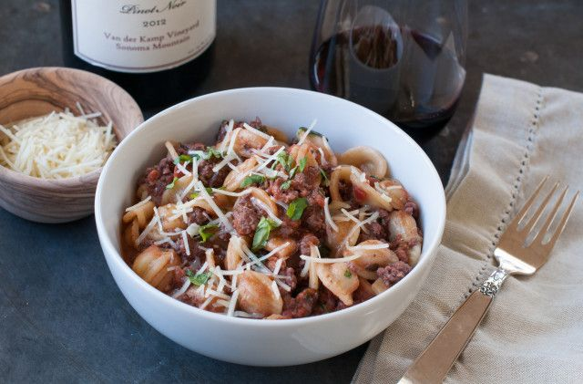 Barefoot's weeknight bolognese. This bolognese takes 45 minutes top ...