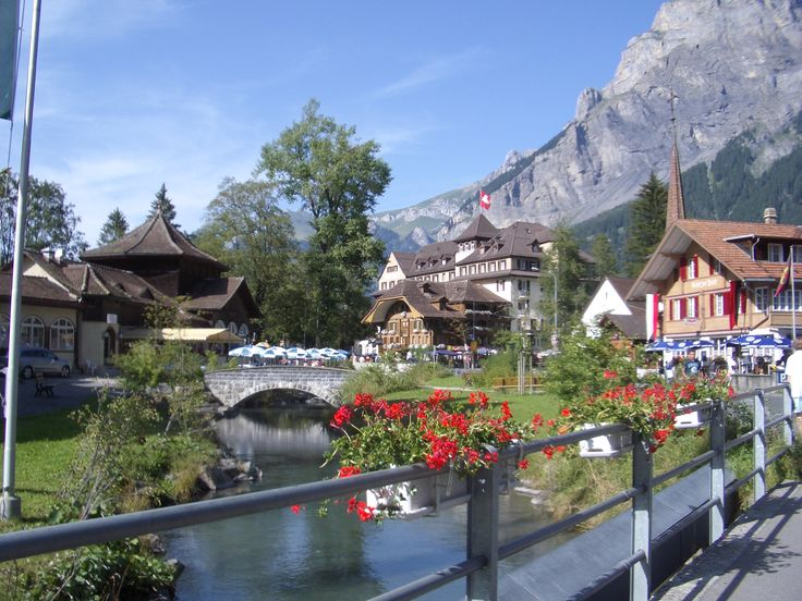 Kandersteg Switzerland  City new picture : Kandersteg, Switzerland | Places to visit | Pinterest