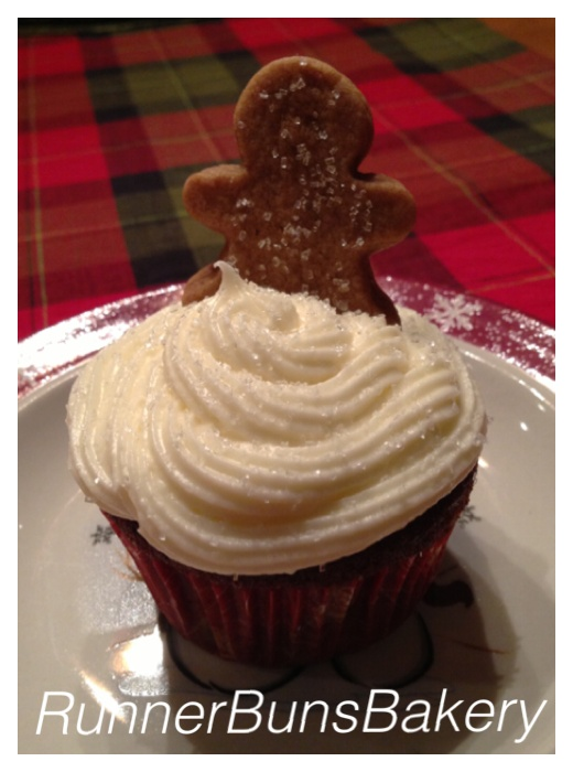 Gingerbread Cupcakes with Cream Cheese Frosting. Courtesy of ...