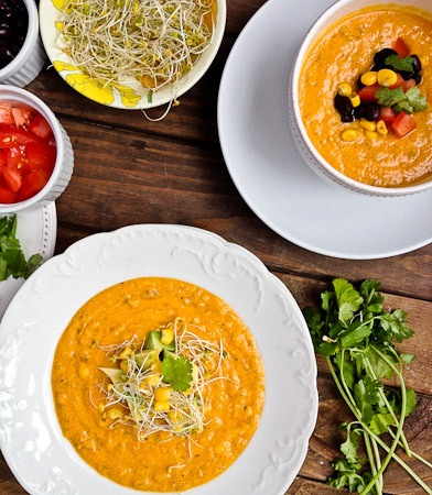 Healthy Sweet Potato Corn Chowder | Healthy Dinners & Snacks | Pinter ...