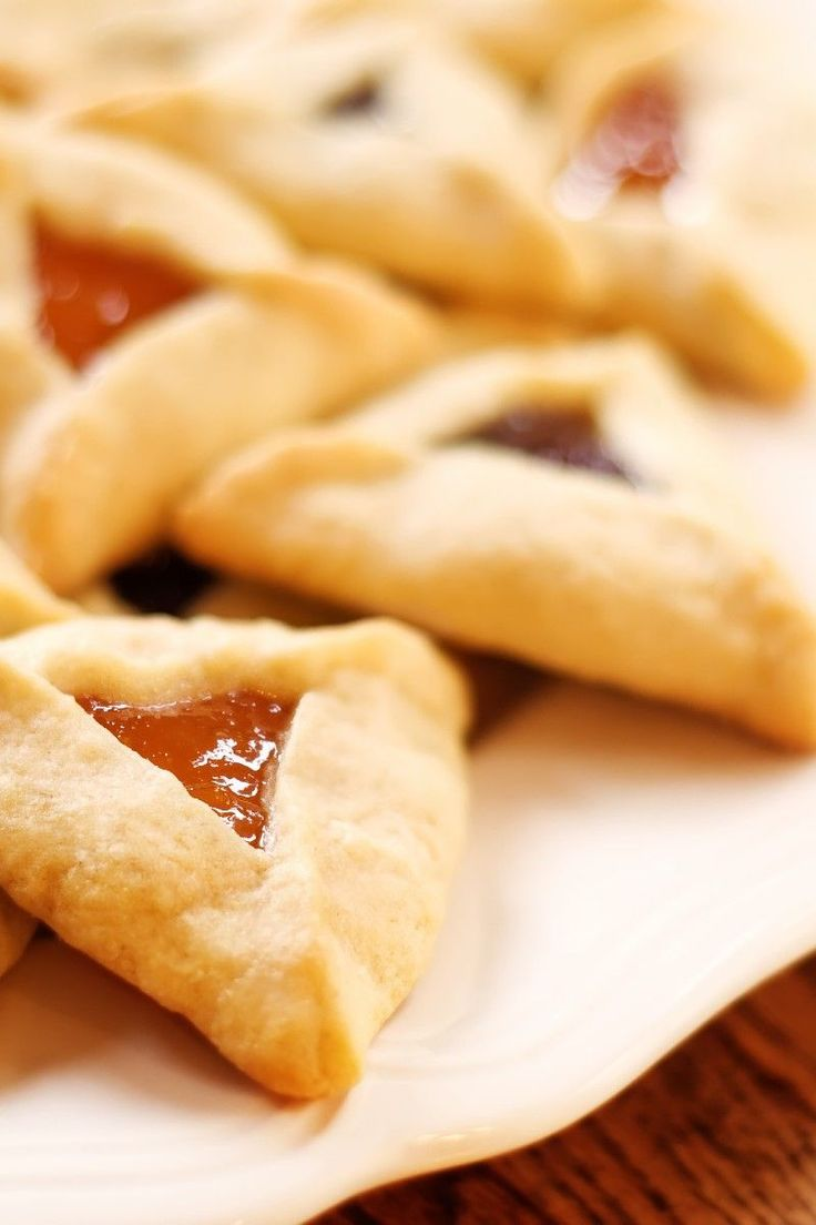 Easy Hamantaschen Cookie Recipe | Just Desserts! | Pinterest