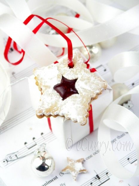 Linzer Cookies with Spiced Jam | christmas | Pinterest
