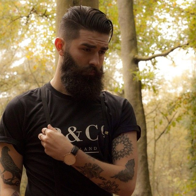 aaron kaufman new haircut beards and tattoos quotes. Black Bedroom Furniture Sets. Home Design Ideas