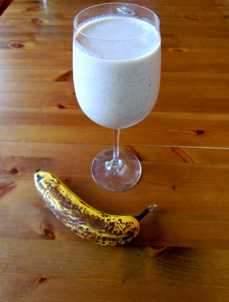 Toasted walnut banana smoothie | Delightful Drinks | Pinterest