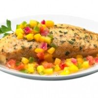 Grilled Tilapia & Mango Salsa | Food and Drink | Pinterest