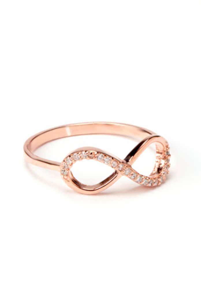 gold rings gold rings infinity