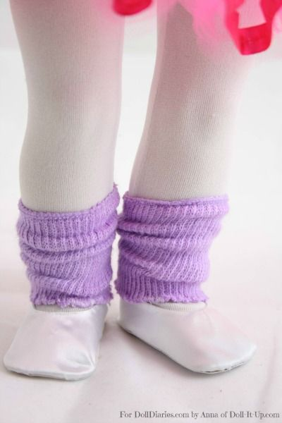 Doll Craft-Doll Size Leg Warmers — Doll Diaries