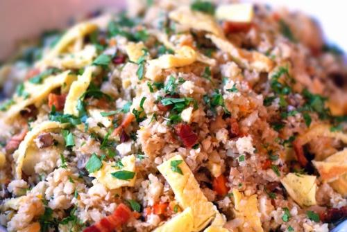 Asian cauliflower fried rice - #paleo | Paleo/gluten-free recipes | P ...