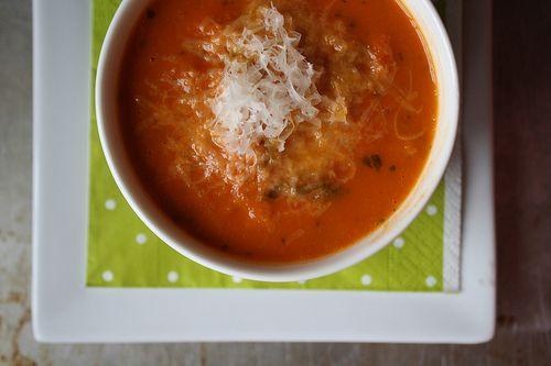 Tomato bread soup | Good eats | Pinterest