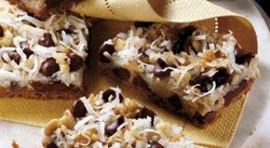 LAYERED COOKIE BARS | GAME DAY | Pinterest