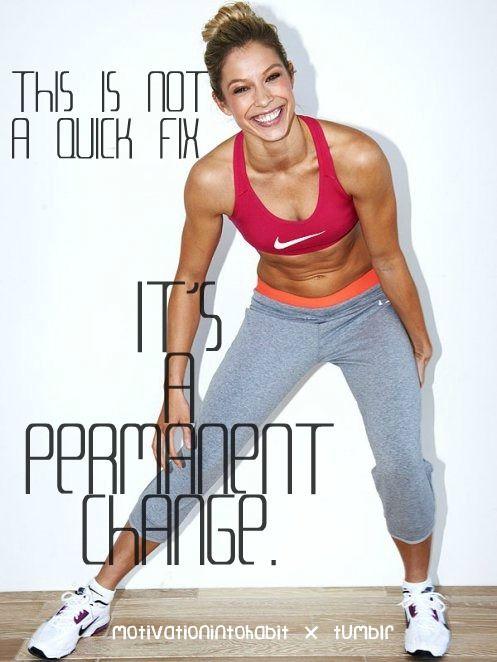 Permanent change....