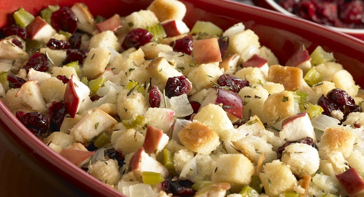 Cranberry Apple Stuffing | Recipe