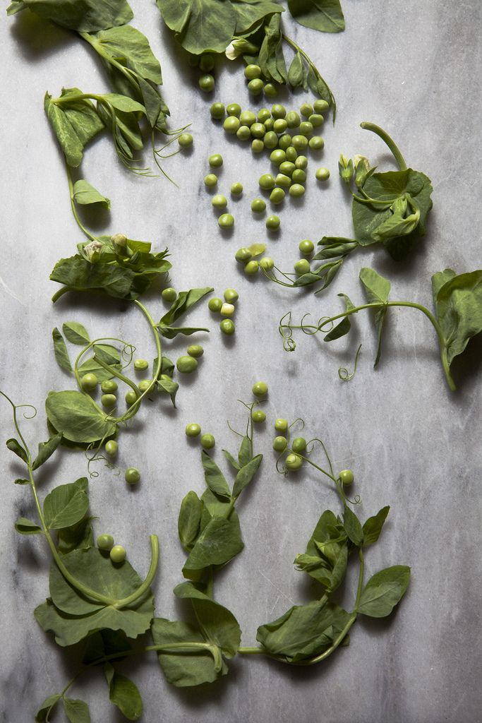 buttery peas with garlic scapes }   recipes   Pinterest
