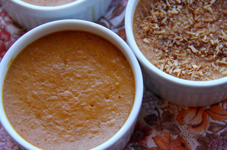 Heavenly Sweet Potato Pudding (grain free, dairy free) -
