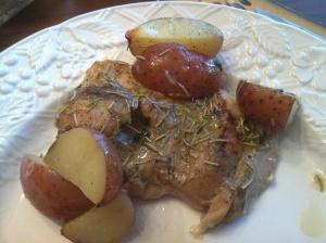 Crispy Rosemary Chicken & Fries | Dinner Is Served | Pinterest