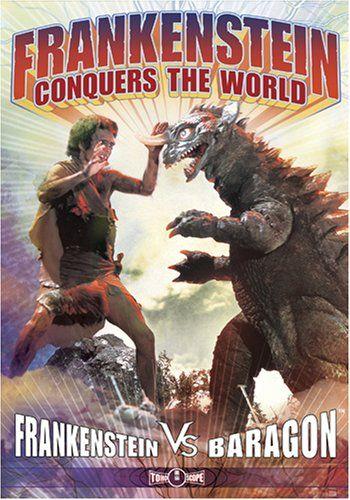 Frankenstein Conquers The World  DVD Frankenstein Conquers The World Baragon