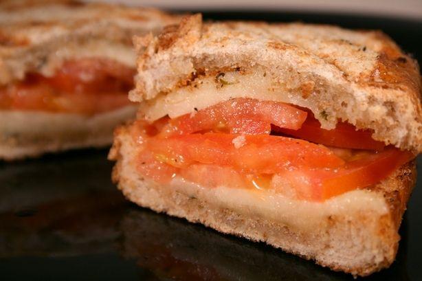 Grilled Provolone, Tomato and Oregano Sandwich | Recipe