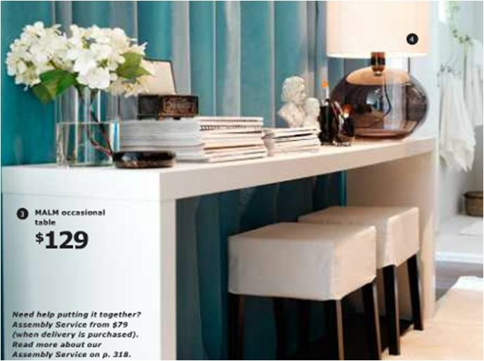 Parsons Table Ikea : cheaper parsons-like side table, ikea source book