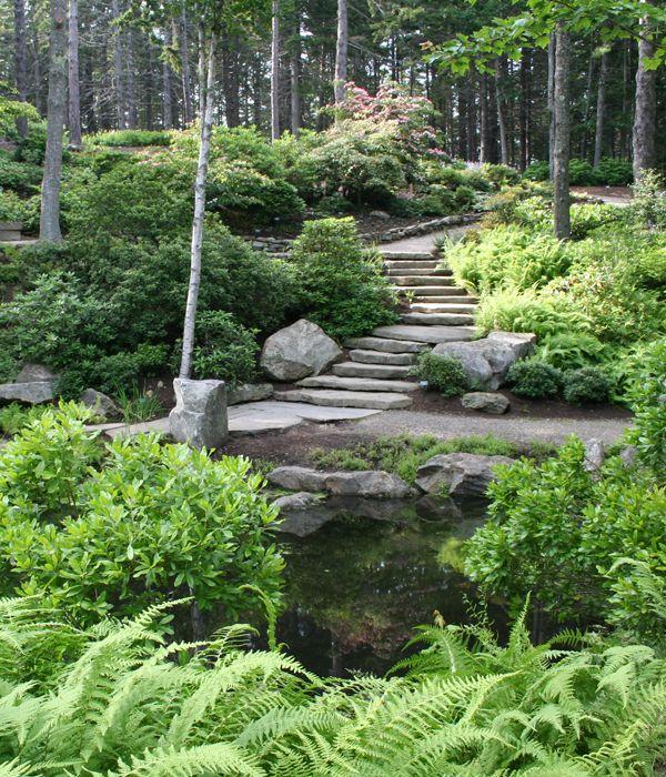 Coastal Maine Botanical Gardens Garden Design Pinterest